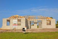 De nieuwe bouw van het Huis Royalty-vrije Stock Foto