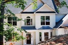 De nieuwe Bouw van het Huis/het Opruimen Royalty-vrije Stock Foto