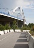De nieuwe brug van Bratislava - van Apollo Stock Afbeeldingen