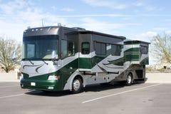 De nieuwe Bus van het Huis rv van de Motor van de Luxe Stock Fotografie