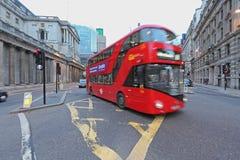 De nieuwe Bus van Londen Stock Fotografie