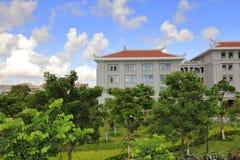 De nieuwe campus van xiamen universiteit, rgb adobe royalty-vrije stock foto's