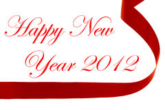 De nieuwe decoratie van jaar 2012 Kerstmis Royalty-vrije Stock Afbeeldingen