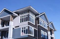 De nieuwe Flats van Huizen BC royalty-vrije stock afbeeldingen