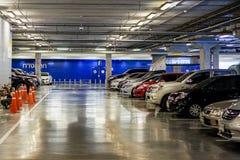 De nieuwe Garage van het Parkeren Stock Afbeelding