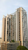 De nieuwe gebouwen in Bangkok Royalty-vrije Stock Foto's