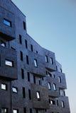 De nieuwe gebouwen van Oslo Stock Afbeelding