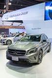 De nieuwe GLA Klasse van Mercedes Benz op vertoning Royalty-vrije Stock Fotografie