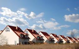 De nieuwe Huizen van de Familie Stock Foto's