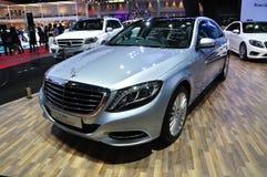 De nieuwe Hybride van Mercedes BENZ S300 Bluetec Royalty-vrije Stock Fotografie