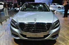 De nieuwe Hybride van Mercedes BENZ S300 Bluetec Stock Afbeelding