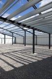 De nieuwe industriële bouw Stock Foto