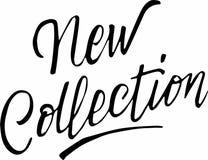 De nieuwe inzameling van de kalligrafieinschrijving vector illustratie