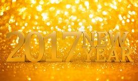 2017 de nieuwe jaren schitteren Royalty-vrije Stock Fotografie