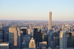 De Nieuwe Jork gebouwen van Manhattan Stock Fotografie