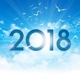 2017 de Nieuwe kaart van de daggroet Royalty-vrije Stock Afbeeldingen