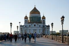 De nieuwe Kathedraal van Christus de Verlosser Royalty-vrije Stock Foto's