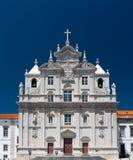De Nieuwe Kathedraal van Coimbra in Portugal stock afbeelding