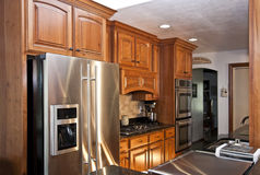 De nieuwe Keuken remodelleert Stock Foto's
