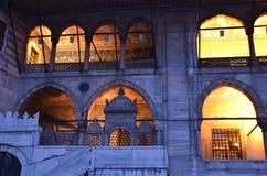 De Nieuwe Moskee van Eminonu Stock Afbeelding