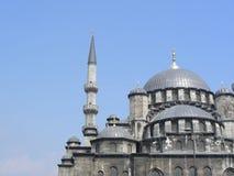 De nieuwe Moskee (van Yeni) in Istanboel stock fotografie