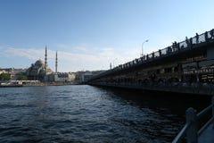 De Nieuwe Moskee - Yeni Cami - oorspronkelijk genoemde Valide-Sultan in Istanboel, Turkije stock afbeeldingen