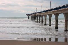 De nieuwe Pijler van Brighton, Nieuw Zeeland Royalty-vrije Stock Fotografie
