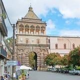 De Nieuwe Poort van Palermo Stock Foto's