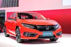 De nieuwe rode kleur van Honda Civic Royalty-vrije Stock Fotografie