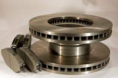 De nieuwe schijf bakt rotoren en stootkussens Royalty-vrije Stock Afbeelding