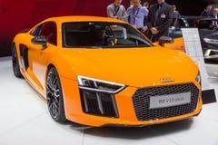 De nieuwe sportwagen van Audi R8 Stock Foto