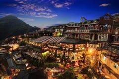 De nieuwe Stad van Taipeh, Taiwan royalty-vrije stock foto's