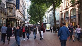 De Nieuwe Straat van Birmingham, Engeland royalty-vrije stock afbeeldingen