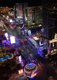 De Nieuwe Strook van Las Vegas royalty-vrije stock foto's