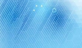 De nieuwe toekomstige abstracte achtergrond van het technologieconcept Stock Fotografie