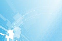 De nieuwe toekomstige abstracte achtergrond van het technologieconcept Stock Foto's