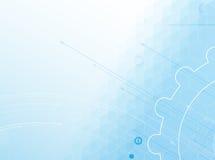 De nieuwe toekomstige abstracte achtergrond van het technologieconcept Royalty-vrije Stock Afbeeldingen