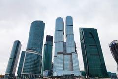 De nieuwe van de de stadstoren van Moskou het bureaubouw Royalty-vrije Stock Afbeelding