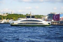 De Nieuwe Veerboot van Istanboel Royalty-vrije Stock Afbeelding
