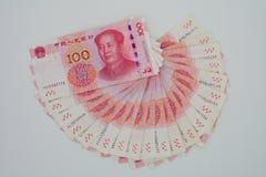 De nieuwe versie van de yuans & x28; goud 2015 Edition& x29; Royalty-vrije Stock Fotografie