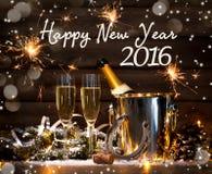 De nieuwe viering van de jarenvooravond Stock Foto