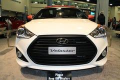 De nieuwe voorzijde van de het conceptenauto van Hyundai Stock Afbeelding