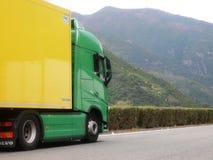 De nieuwe Vrachtwagen van Volvo FH Royalty-vrije Stock Afbeeldingen