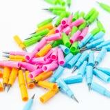 De Nieuwe vullingen van het potlood Stock Foto's
