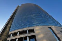 De nieuwe wolkenkrabber van Milaan in aanbouw Royalty-vrije Stock Foto's