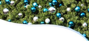 De Nieuwjaarskaart van Kerstmis Stock Afbeelding