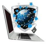 De nieuwste technologieën van Internet Royalty-vrije Stock Afbeelding