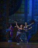 """ de Nights†de l'""""One mille et un de ballet de danse de serpent Images stock"""