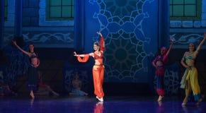 """ de Nights†de l'""""One mille et un de ballet de personnes maintenant chantant, maintenant de danse Images stock"""