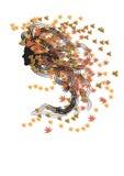 De nimf van de herfst vector illustratie